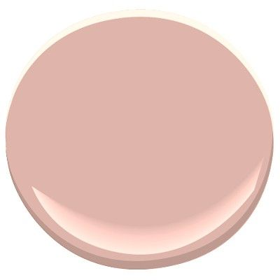 Benjamin Moore - Rosetta. A generous dose of gray gives this darker, dusty pink its timeless appeal. It works well as a deep neutral, or as a rosy all-over color.