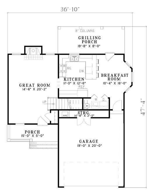 136 best House Plans images on Pinterest | Floor plans, House floor plans  and Small houses