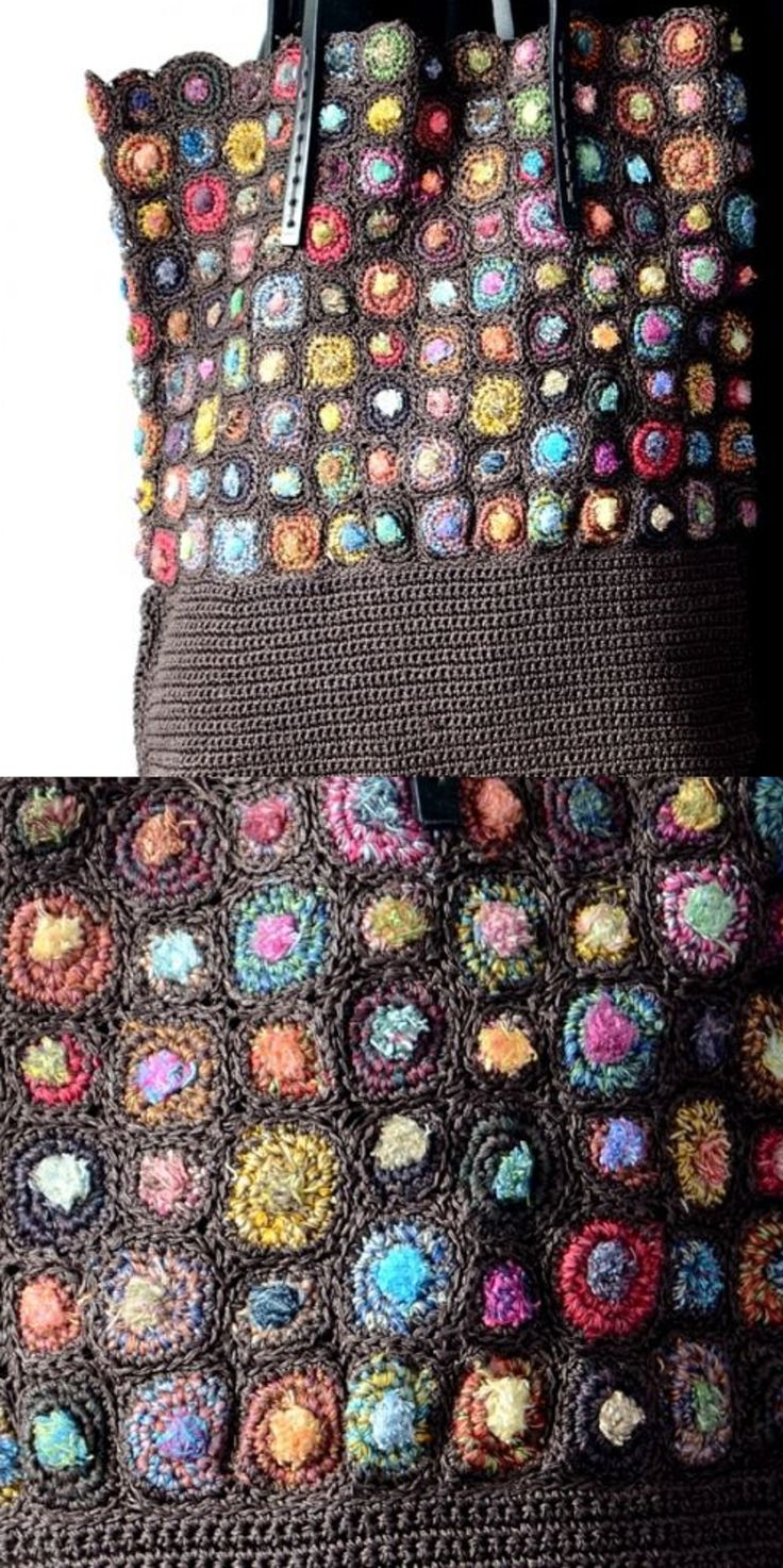 Sophie Digard Crochet Bag and sample of fabric.