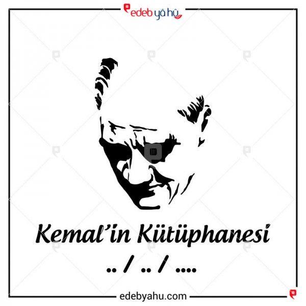 Atatürk portreli kitap mührü yaptırmak ister misiniz? Hem de isminize özel. O halde hemen sitemizi ziyaret edin.