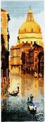 Heritage John Clayton #crossstitch Venice #chart #pattern #DIY #crafts #decor #needlework #crossstitching