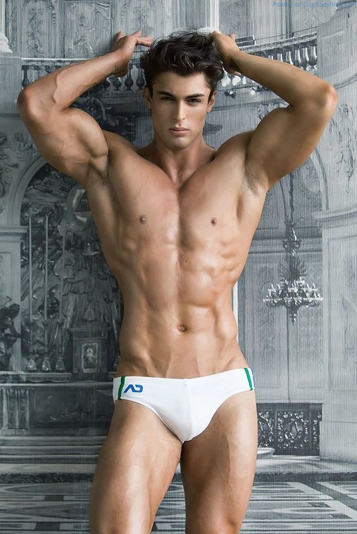 Muscled Jock Model David Lurs Looks Amazing 9