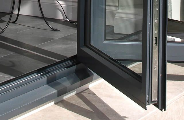Continental Aluminium Bifold Doors Threshold Threshold Options