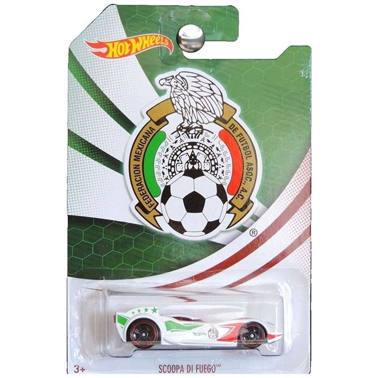 Hot Wheels Federacion Mexicana De Futbol Asoc Scoopa #HotWheels