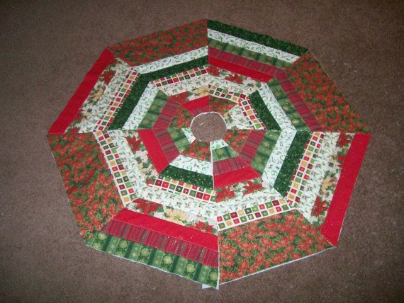 Tree Skirt Strip Pieced By ElisesQuilts On Etsy