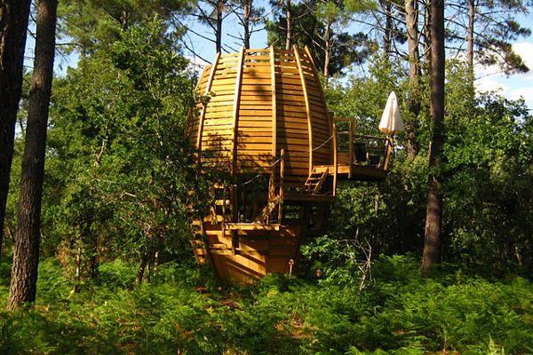 Village de cabanes Cap' Cabane - une cabane perchée