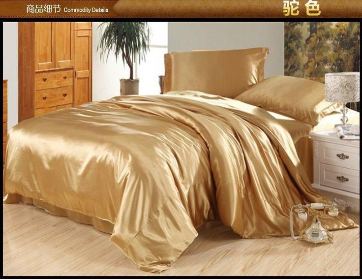 les 25 meilleures id es de la cat gorie couvre lit satin sur pinterest couvre lits noirs et. Black Bedroom Furniture Sets. Home Design Ideas