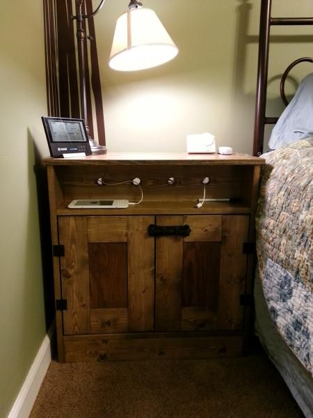 Charging Nightstands   Do It Yourself Home Projects from Ana White