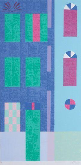 Obras de Alfredo Volpi - Fachada