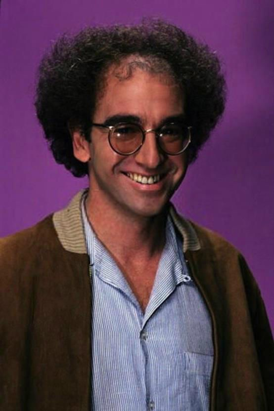 Larry David with hair!