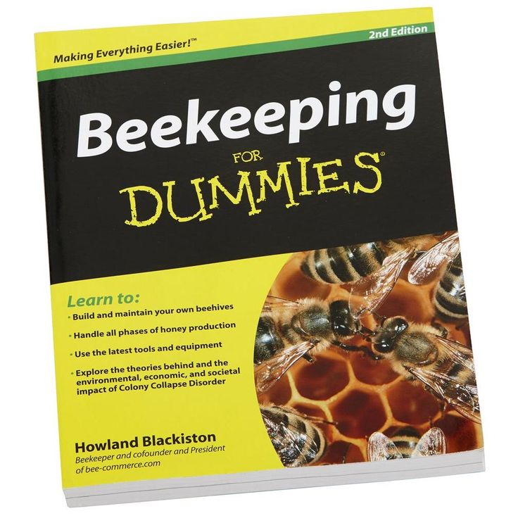 Little GIANT Beekeeping for Dummies Book22610448 The