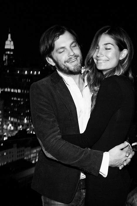 THIS IS TOO CUTE .caleb followill + lily aldridge . Future Relationship Goals