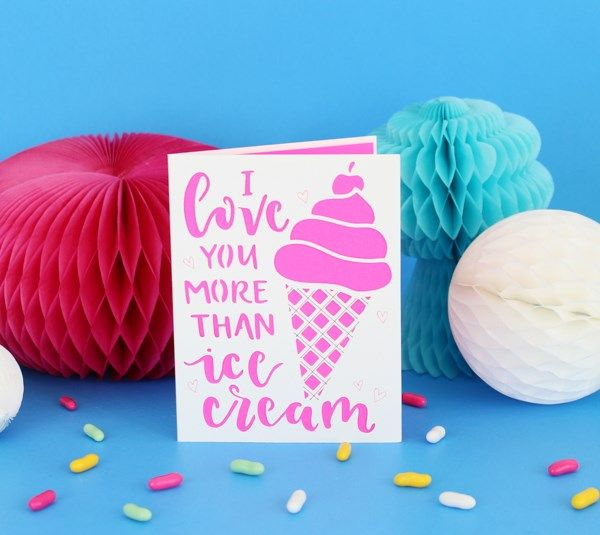 I Love You More Than Ice Cream: Cricut Projects Images On Pinterest