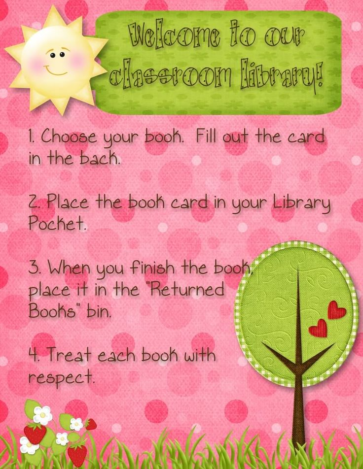 Classroom Library Procedures