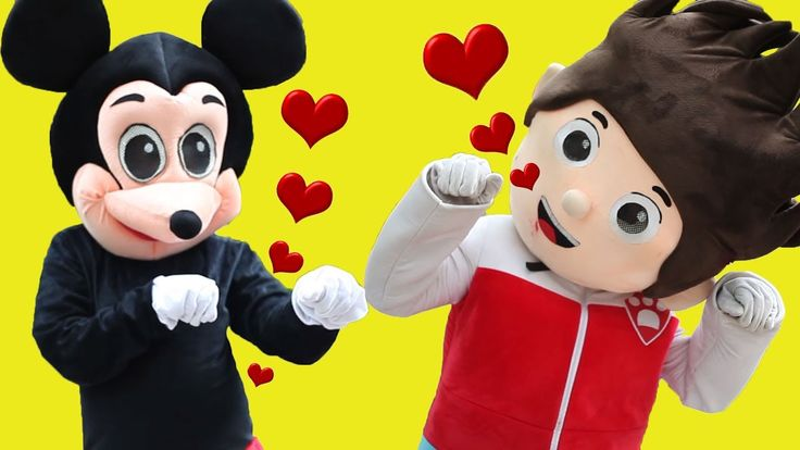 Mickey Mouse & Minnie Mouse Pokemon Pikachu Song Funny Story! Nursery Rh...