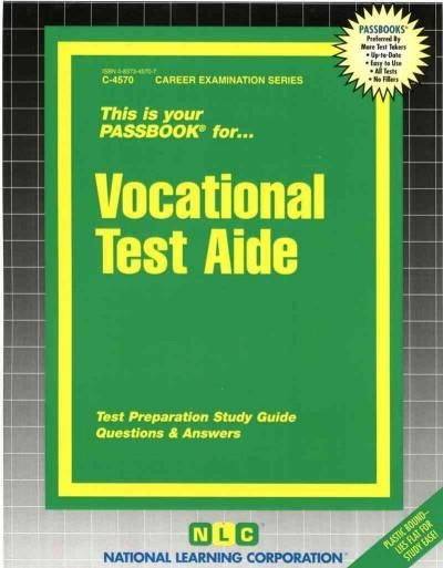 Vocational Test Aide
