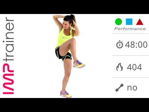 Allenamento GAG intenso - Workout Fitness da 48 minuti (IMP Performance) - YouTube