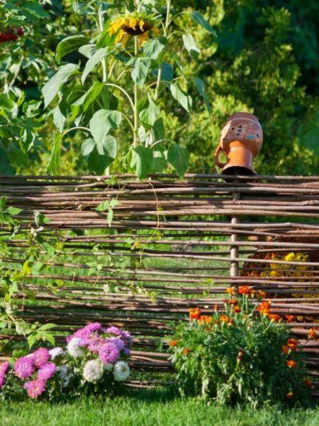 Elegant Bauerngarten planen anlegen und Tipps Sichtschutz GartenSichtschutz