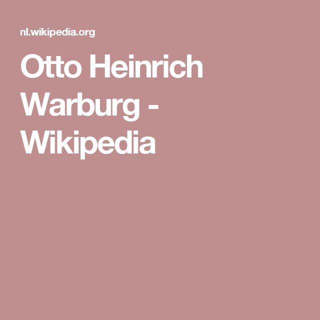 Otto Heinrich Warburg - Wikipedia