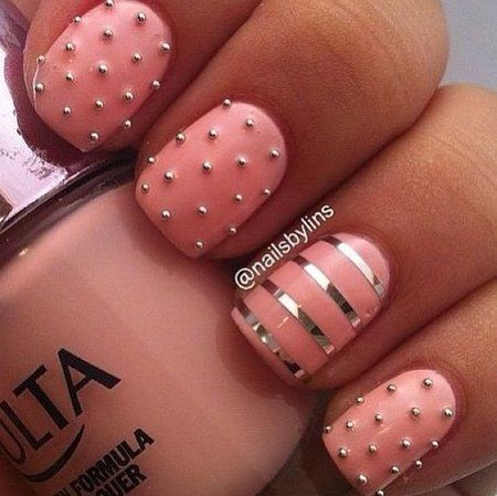 30 Fashionable Caviar Nails For Women