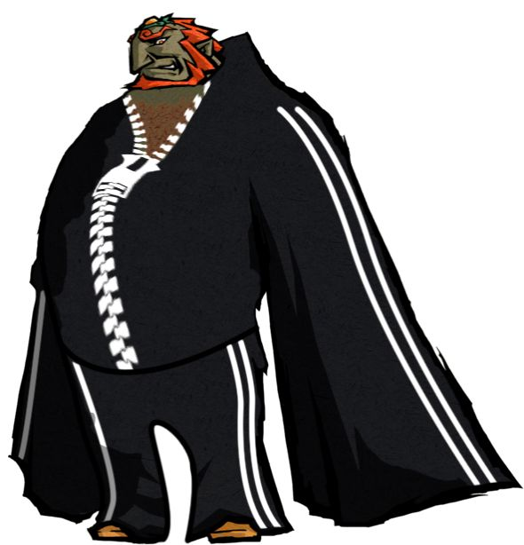 #Ganondorf from the #LegenofZelda #Windwaker with his new leisure suit directly taken from #LordBarta newest LP