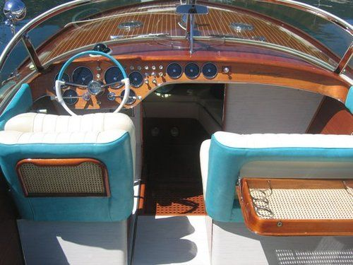 Riva Aquarama Italian Boat