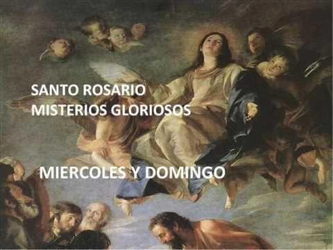 Armonia Espiritual: MIERCOLES SANTO ROSARIO - MISTERIOS GLORIOSOS