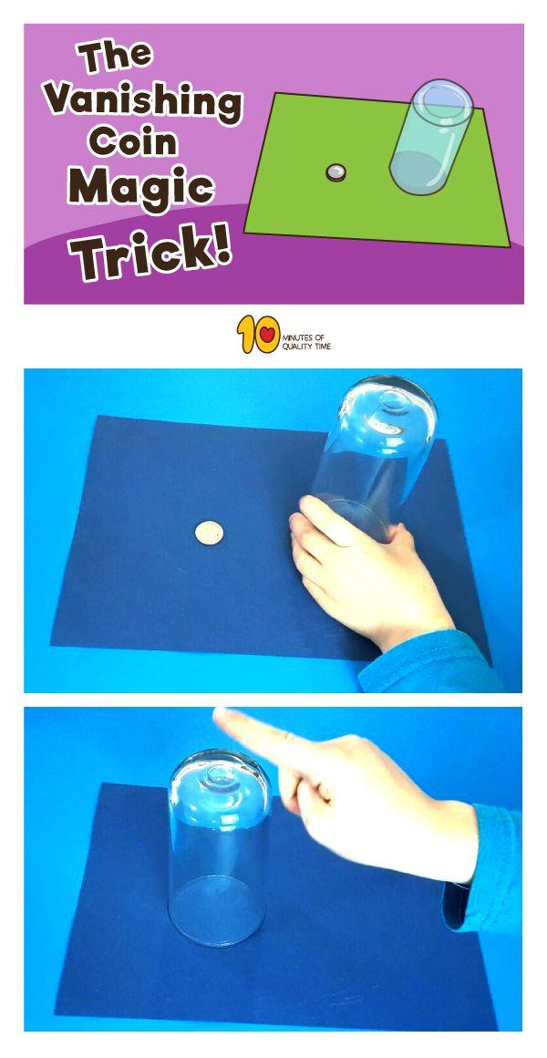 The Vanishing Coin Magic Trick Revealed