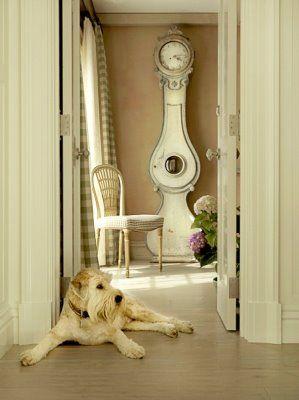 It's time.: Swedish Dogs, Swedish Clocks, Clocks It Time, Clocks Clocks, Marshalls Watson, Mora Clocks, Dogs Decor, Grandfather Clocks, Charms Vignettes