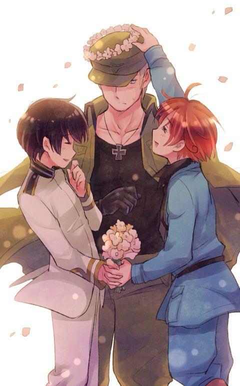 Hetalia axis powers Japan Germany Italy