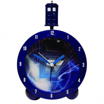 Doctor Who TARDIS Herätyskello - AlphaGeek 29 e