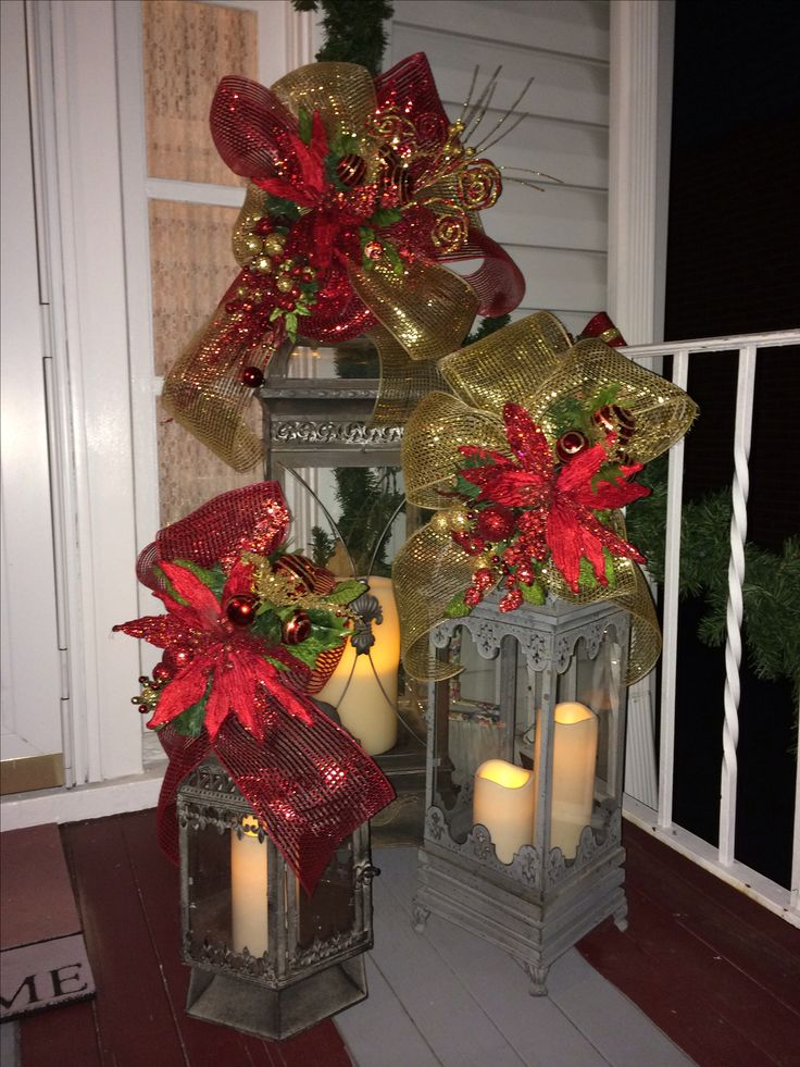 Best ideas about christmas lanterns on pinterest xmas