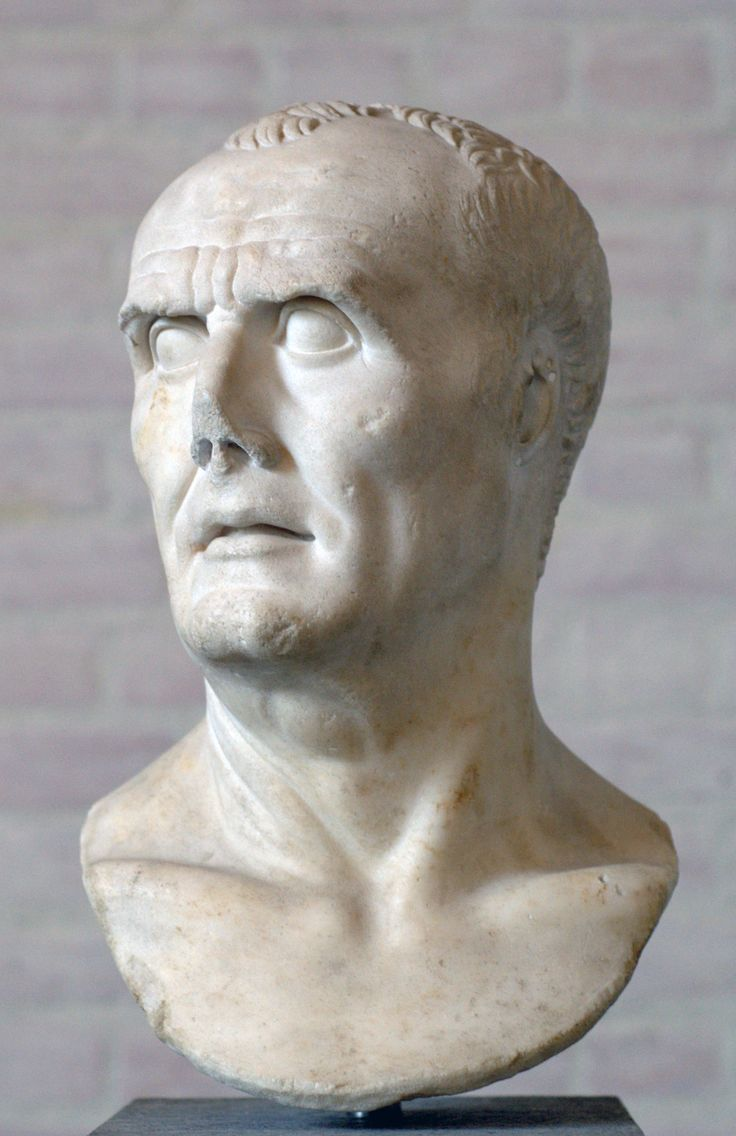 Portrait bust of Gaius Marius, called the third founder of Rome - Glyptothek Munich