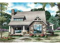 Small English Cottage House Plans | ... photos may vary slightly. Refer to the floor plan for accurate layout