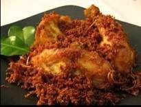 Resep Ayam Goreng Serundeng Lengkuas dan cara membuat | BacaResepDulu.com