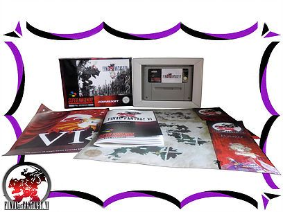 buy final fantasy 6 Pal Complete in Box pal
