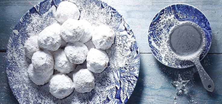 "Photo credit: G. Drakopoulos - Food Styling: T. Webb  This is a delicious, melt in your mouth, traditional Greek sweet called ""Kourabiedes"". Sweet and crumbly, with crunchy to..."