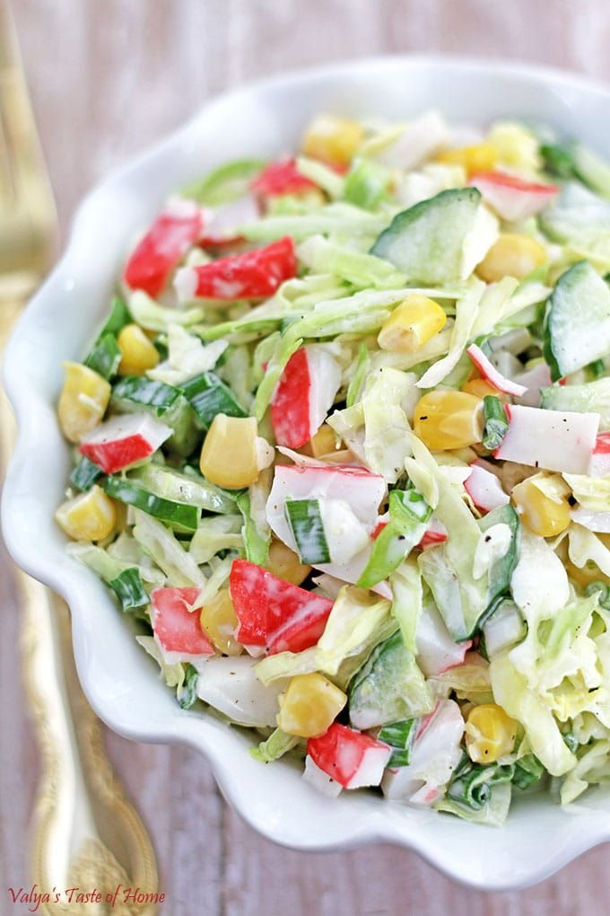 Salad Crab Meat Recipe