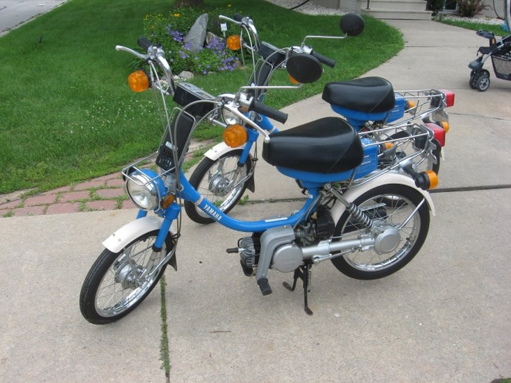 yamaha qt50 yamahoppers yamahopper mopeds cars. Black Bedroom Furniture Sets. Home Design Ideas