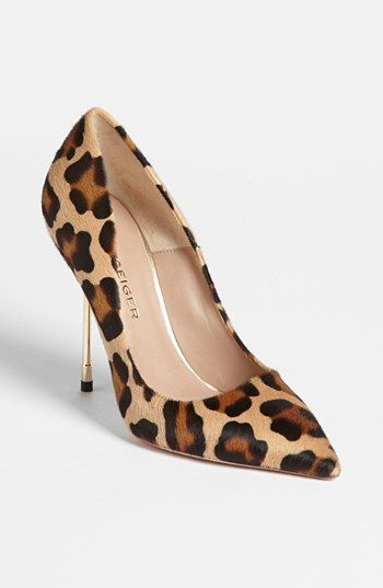 Kurt Geiger London. I don't usually go for such a skinny heel, but I adore this print.