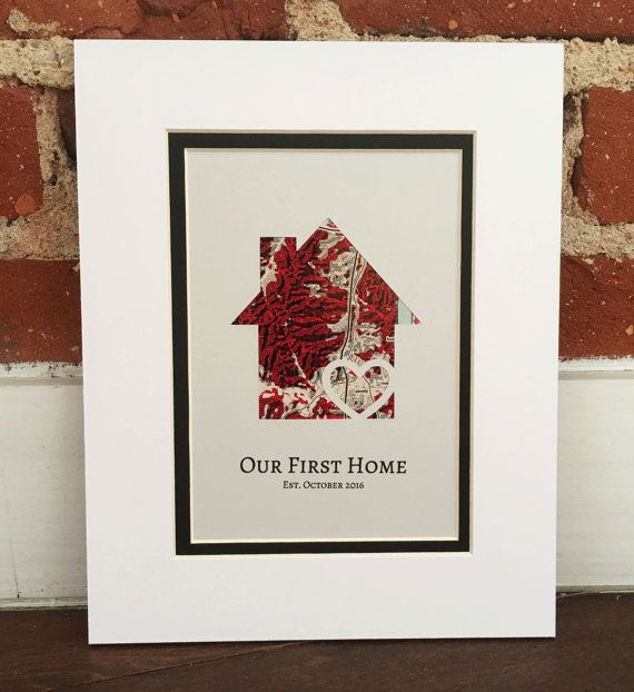 First Home Housewarming Gift House Warming Gift New Home
