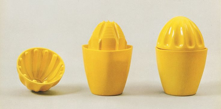Gino Colombini ~ Juicers for Kartell ~ Plastic ~ 1958