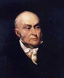 John Quincy Adams 1767 Massachusetts - 1848 Washington, 6. Präsident der USA 1825-1829, Sohn des 2. Präsidenten