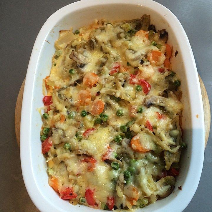 Schneller  Maultaschen - Gemüseauflauf, ein tolles Rezept aus der Kategorie Auflauf. Bewertungen: 65. Durchschnitt: Ø 4,1.