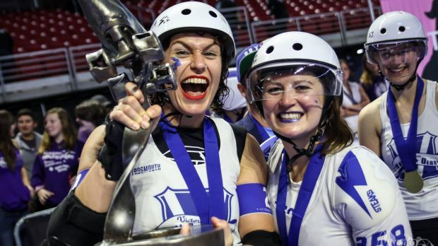 Victoria has won the women's flat-track roller derby world title - the first team outside the United States to claim the championships.