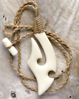 I am completely hooked on Maori symbol necklaces. These pendants are commonly carved from bone and jade (greenstone or pounamu) sometimes attached to their cords with authentic, traditional bindings.(As on the photo to the right)   Not only are...