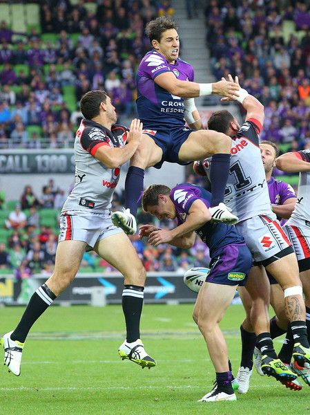 Billy Slater Photos: NRL Rd 5 - Storm v Warriors http://footyboys.com