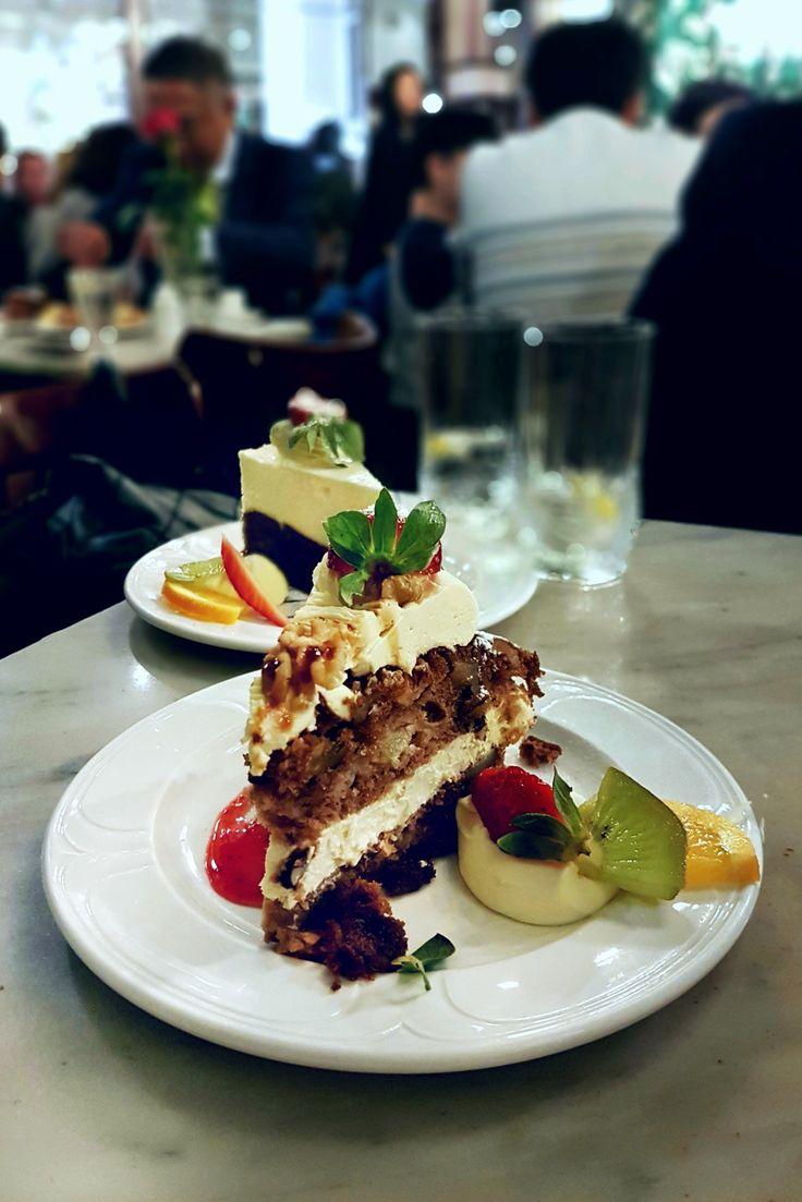 """""""Apple, Cinnamon & Walnut Tea Cake"""", Hopetoun Tea Rooms, Melbourne"""