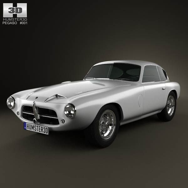 Pegaso Z-102 1954 3d model from humster3d.com. Price: $75