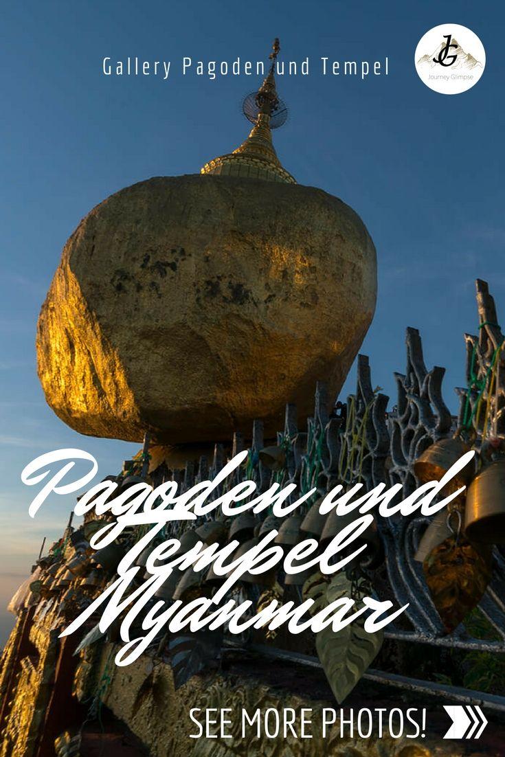 Myanmar ist berühmt für seine Tempel und Pagoden. Wir widmen der wunderschönen Architektur eine eigene Galerie.